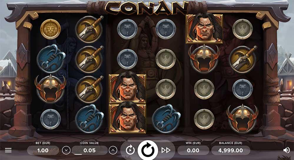 Conan Spilleautomat fra NetEnt