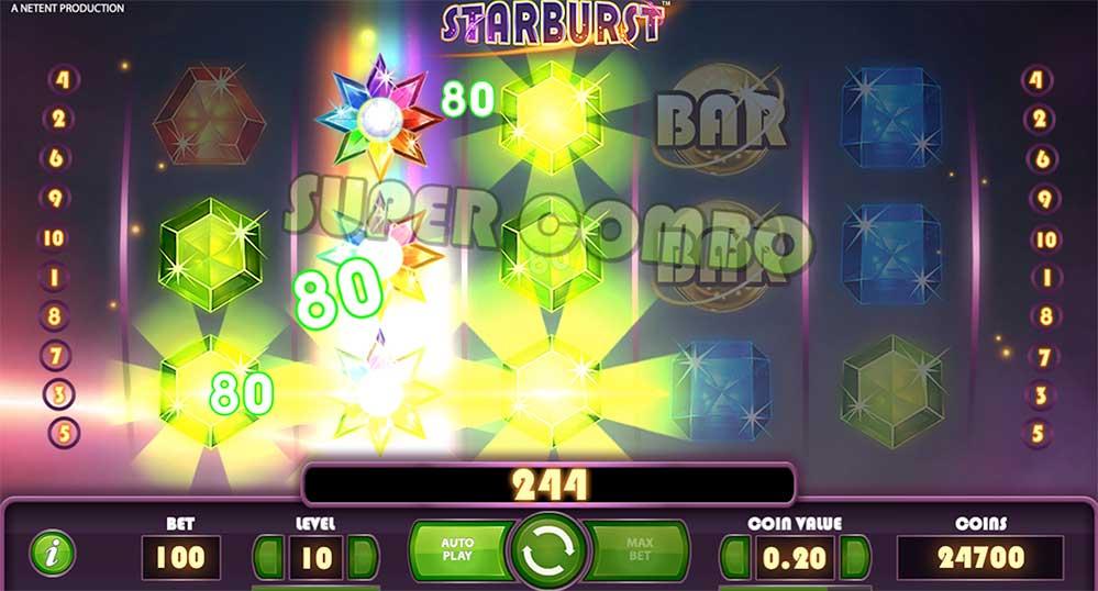Starburst NetEnts spilleautomat