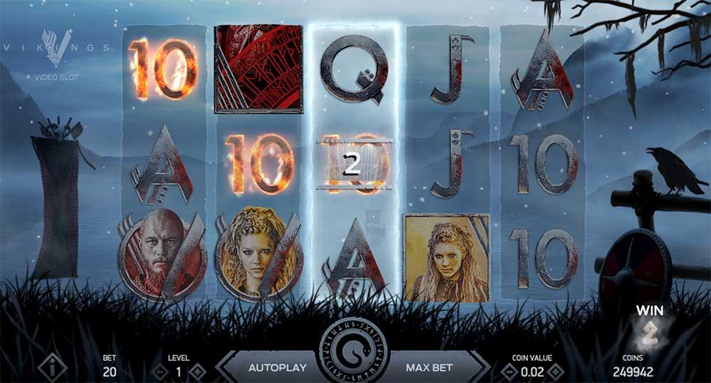 Vikings NetEnt automat